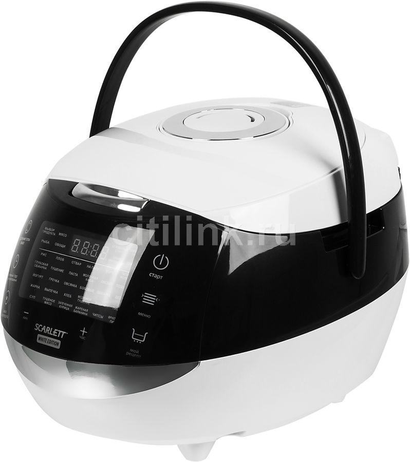 Мультиварка SCARLETT SC-MC410S07,  975Вт,   белый/черный [sc - mc410s07]