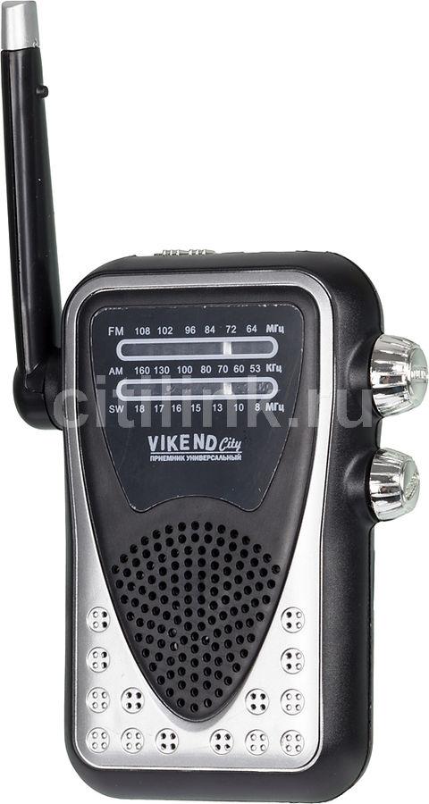 Радиоприемник СИГНАЛ Vikend City,  черный
