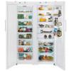 Холодильник LIEBHERR SBS 7253 (SGN 3010 + SKB 4210),  двухкамерный,  белый вид 3