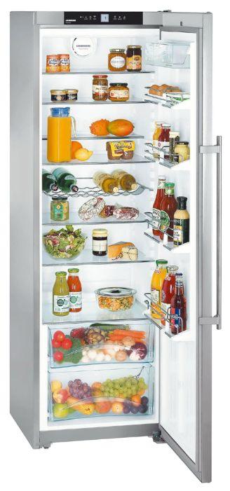 Холодильник LIEBHERR SKBbs 4210,  однокамерный,  черный