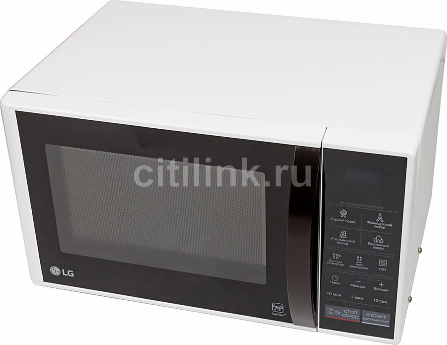 Микроволновая печь LG MS2344BAB, белый