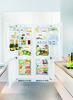 Встраиваемый холодильник LIEBHERR SBS 66I3 (SICN 3356 + ICBN 3366) белый вид 1