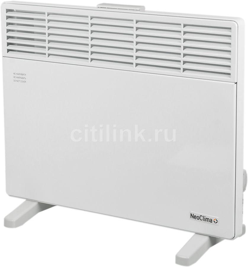 Конвектор NEOCLIMA Comforte T1.5,  1500Вт,  белый [эвна-1,5/230с2(c)]