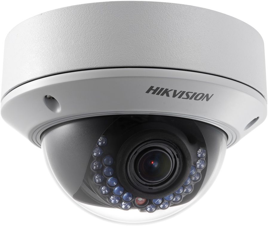Видеокамера IP HIKVISION DS-2CD2742FWD-IZS, 2.8 - 12 мм, белый видеокамера ip hikvision ds 2cd2642fwd izs цветная