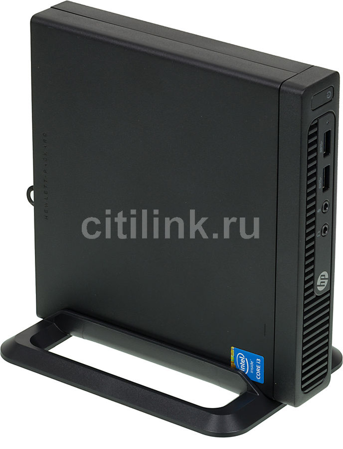 Компьютер  HP 260 G1,  Intel  Core i3  4030u,  DDR3 4Гб, 500Гб,  Intel HD Graphics 4400,  Windows 7 Professional,  черный [l3e25ea]