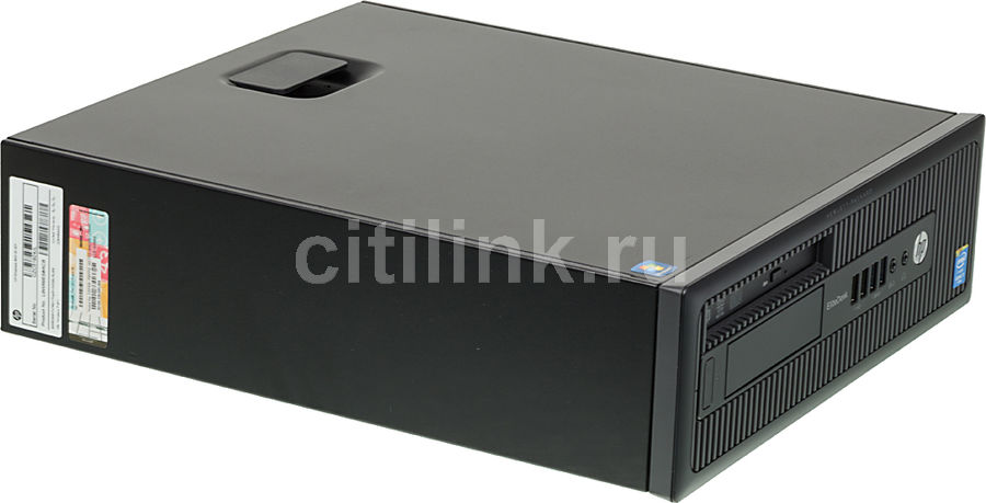 Компьютер  HP EliteDesk 800 G1,  Intel  Core i7  4790,  DDR3 8Гб, 1000Гб,  nVIDIA Quadro NVS 315 - 1024 Мб,  DVD-RW,  Windows 7 Professional,  черный [l9w69es]