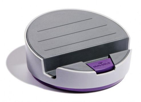 Подставка Durable 7611-12 Varicolor для планшета d=145мм 59мм серый/фиолетовый