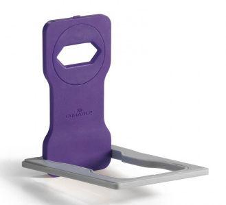 Подставка Durable 7735-12 Varicolor для мобильного телефона 84x134x4.5мм фиолетовый/серый