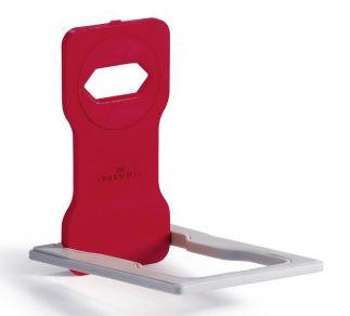 Подставка Durable 7735-03 Varicolor для мобильного телефона 84x134x4.5мм красный/серый