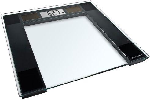 Напольные весы MEDISANA PSS, до 180кг, цвет: прозрачный/черный [40470]