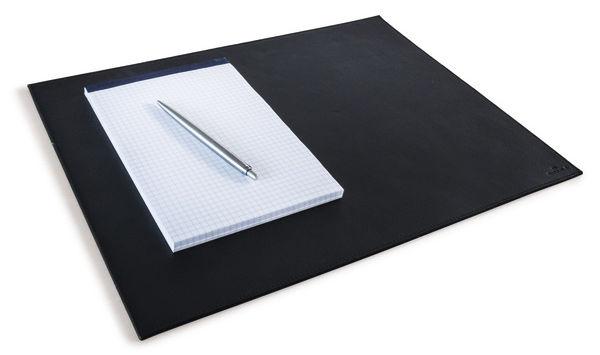 Настольное покрытие Durable (7304-01) кожа 30x42см черный нескользящая основа