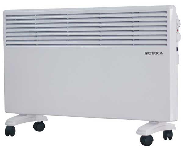 Конвектор SUPRA ECS-410,  1000Вт,  белый