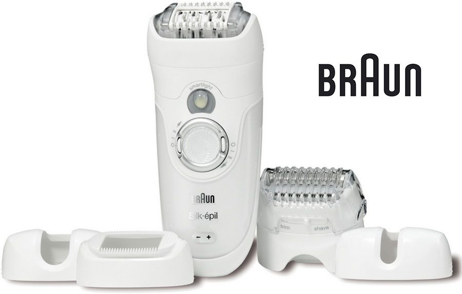 Эпилятор BRAUN 7681 WD белый [81446372]