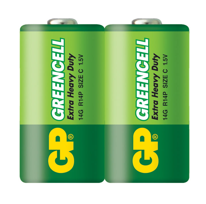 Батарея GP Greencell 14G R14,  2 шт. C
