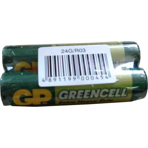 Батарея GP Greencell 24G R03,  2 шт. AAA