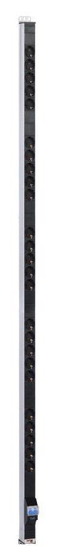 Блок распределения питания ЦМО (R-16-25S-A-1820-K) верт.размещ. 25xSchuko базовые 16A без вилки