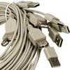 Кабель-удлинитель USB2.0  USB A(m) -  USB A(f),  1.5м,  Bulk,  10шт вид 2