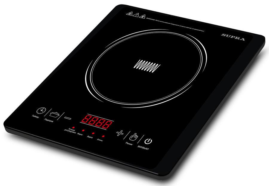 Электрическая плита SUPRA HS-701I,  стеклокерамика,  индукционная,  черный [6832]