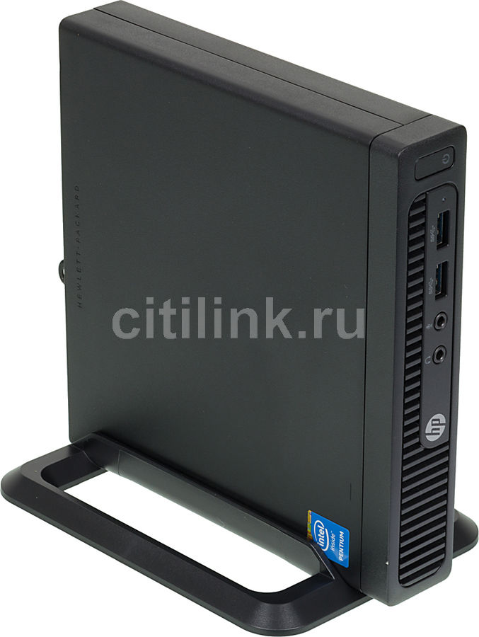 Компьютер  HP 260 G1,  Intel  Pentium  3558U,  DDR3 4Гб, 500Гб,  Intel HD Graphics,  Windows 7 Professional,  черный [n0d69es]