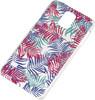 Чехол (клип-кейс) DEPPA Art Case Jungle Пальмы, для Samsung Galaxy S5, прозрачный [100160] вид 1