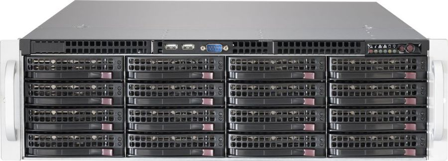 Корпус SuperMicro CSE-836BE2C-R1K03JBOD 2x1000W черный