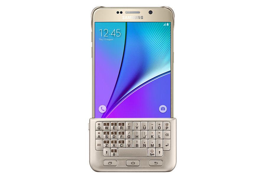 Чехол-клавиатура SAMSUNG для Samsung Galaxy Note 5, золотистый [ej-cn920rfegru]