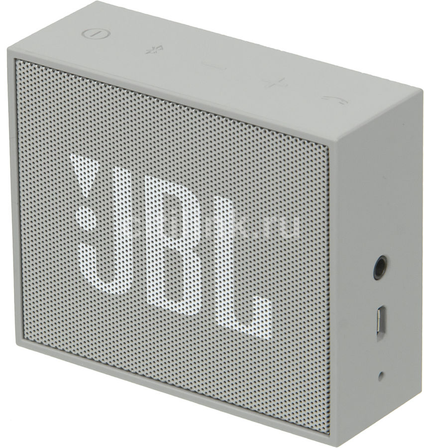 Портативные колонки JBL GO,  серый [jblgogray]
