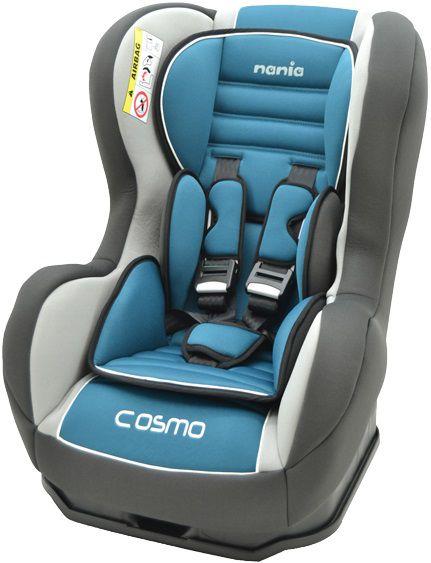 Автокресло детское NANIA Cosmo SP LX (agora petrole), 0+/1, голубой/серый [093009]