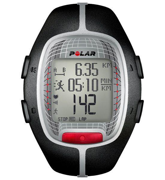 Часы-пульсометр Polar RS300X черный [90037847]