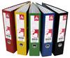 Папка-регистратор Бюрократ -BRT70PVC/PAPBLACK A4 70мм ПВХ/бумага черный вид 5