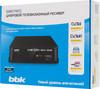 Ресивер DVB-T2 BBK SMP017HDT2,  темно-серый вид 7