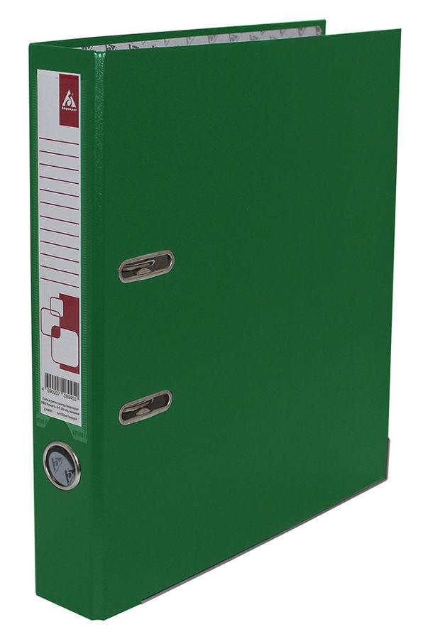 Папка-регистратор с покрытием PVC 80 мм А4 черная IND 8/50 PP BK