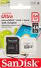 Карта памяти microSDXC UHS-I SANDISK Ultra 64 ГБ