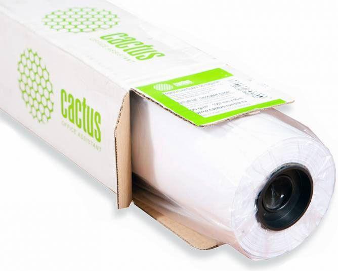 """Бумага Cactus Eco CS-LFP80-914457E 914мм-45.7м/80г/м2/белый для струйной печати втулка:50.8мм (2"""")"""