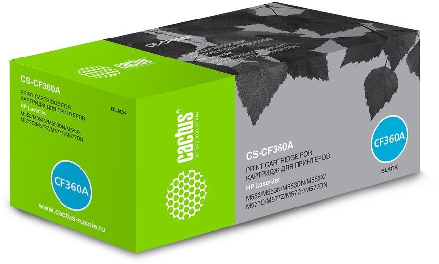 Картридж CACTUS CS-CF360A черный