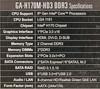 Материнская плата GIGABYTE GA-H170M-HD3 DDR3 LGA 1151, mATX, Ret вид 9