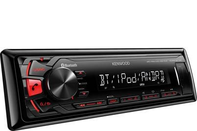 Автомагнитола KENWOOD KMM-BT35,  USB