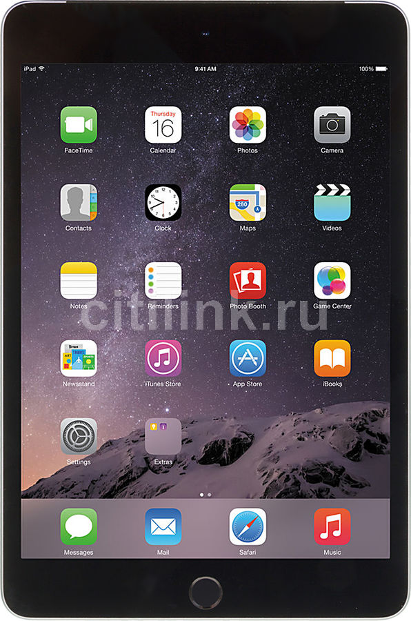 095a8cb85f0b Купить Планшет APPLE iPad mini 4 128Gb Wi-Fi MK9N2RU A, 2GB, 128GB ...