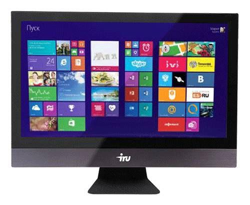 Моноблок IRU Office P2360, Intel Core i3 4170, 4Гб, 500Гб, Intel HD Graphics 4400, DVD-RW, noOS, черный [337356]