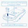Комплект (клавиатура+мышь) OKLICK 280M, USB, беспроводной, черный [mk-0253] вид 22