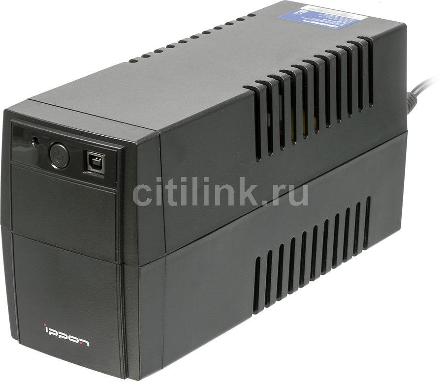 Источник бесперебойного питания IPPON Back Basic 650,  650ВA [337477]