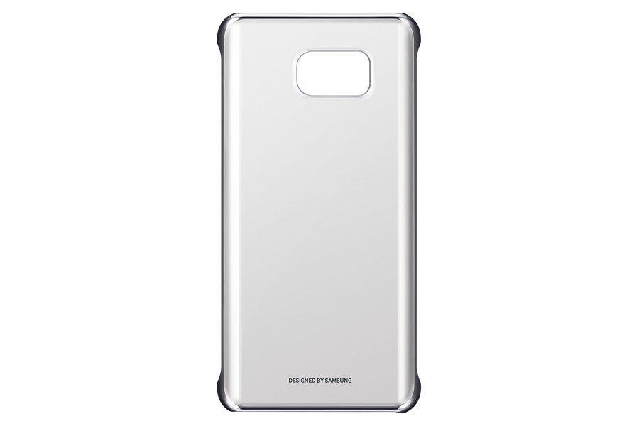Чехол (клип-кейс) SAMSUNG Clear Cover, для Samsung Galaxy Note 5, серебристый [ef-qn920csegru]