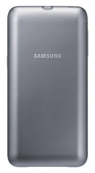 Чехол-аккумулятор SAMSUNG EP-TG928, для Samsung Galaxy S6 Edge Plus, серебристый [ep-tg928bsrgru]