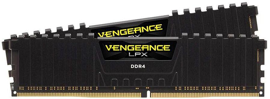 Модуль памяти CORSAIR Vengeance LPX CMK32GX4M2B3000C15 DDR4 -  2x 16Гб 3000, DIMM,  Ret