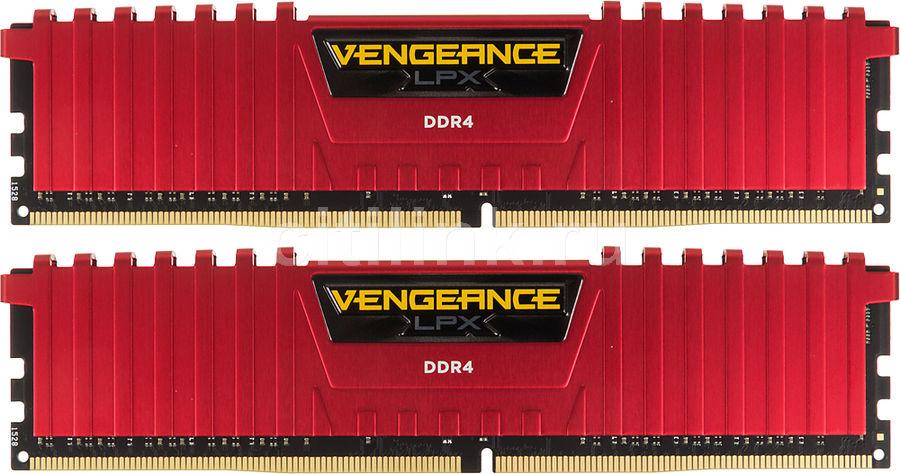Модуль памяти CORSAIR Vengeance LPX CMK8GX4M2A2800C16R DDR4 -  2x 4Гб 2800, DIMM,  Ret