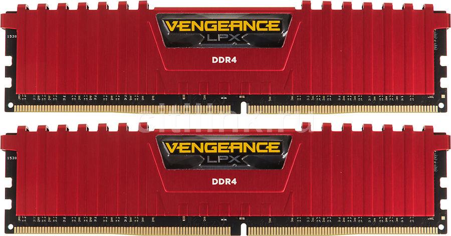 Модуль памяти CORSAIR Vengeance LPX CMK8GX4M2B3000C15R DDR4 -  2x 4Гб 3000, DIMM,  Ret