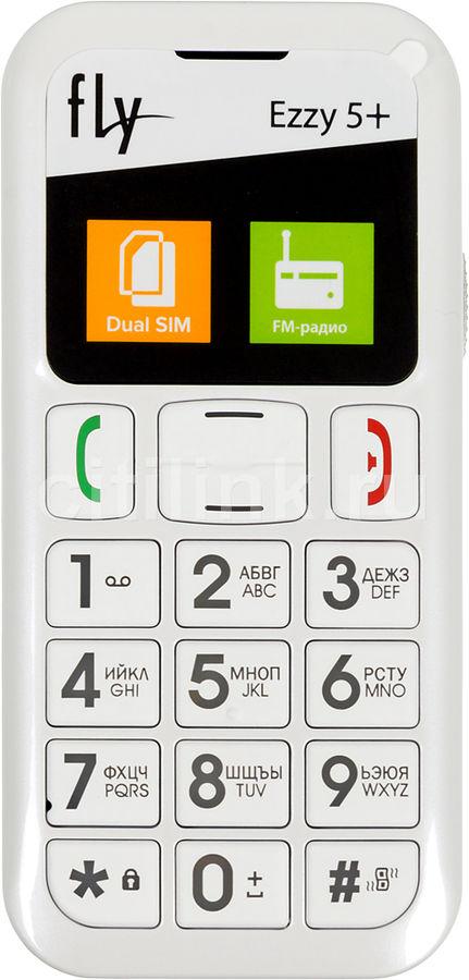 Мобильный телефон FLY Ezzy5+ белый