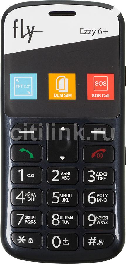 Мобильный телефон FLY Ezzy 6+ серый