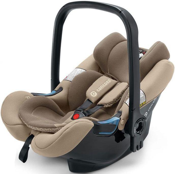 Автокресло детское CONCORD Air.Safe+Clip Almond Beige, 0/0+, бежевый [aic0964]
