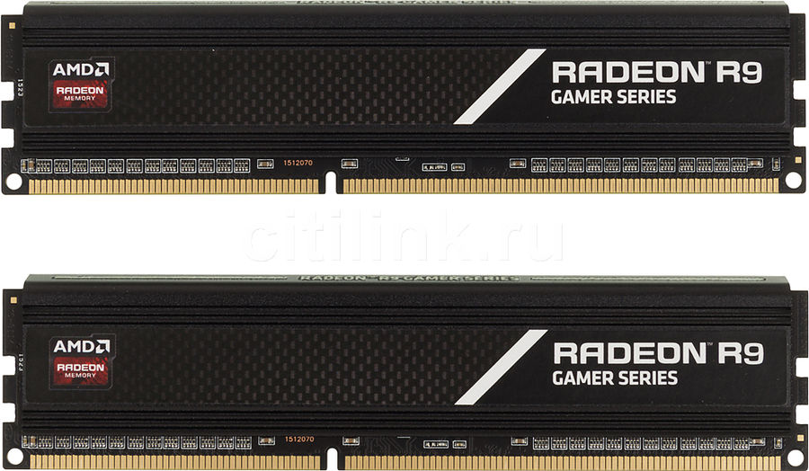 Модуль памяти AMD Radeon R9 Gamer Series R938G2130U1K DDR3 -  2x 4Гб 2133, DIMM,  Ret
